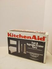 KitchenAid Stand Mixer - Attachment Fruit Vegetable Strainer Parts, New