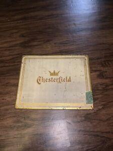 Vintage Chesterfield Cigarette Tin