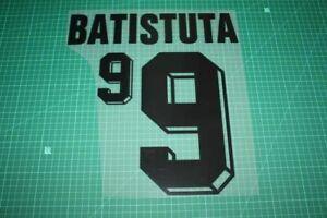Flocage BATISTUTA Argentine - maillot  Patch Football Argentina