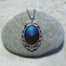 Blue Horizon Pendant Necklace Sunset Sunrise Jewelry