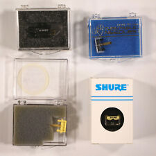 Shure ME95ED Cartridge w/ 3 Styli With Various Amounts of Hours on Each