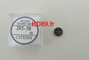 Citizen Capacitor Battery Solar PANASONIC eco drive 295-56 MT920 Skyhawk