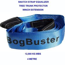 BOGBUSTER TOW STRAP BRIDLE WINCH EXTENSION TREE TRUNK PROTECTOR SNATCH 12T 4X4