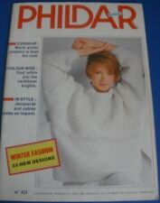 PHILDAR Radio-mailles hiver Fashions Knitting Pattern Book 123