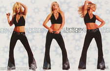 POSTER : MUSIC : YOUNG BRITNEY SPEARS - IN BLACK  - FREE SHIPPING  #9072  RBW1 E