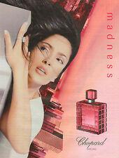 Publicité Advertising 2001  Parfum madness de Chopard