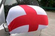 CAR WING MIRROR SOCKS FLAGS, COVERS, FLAG-UPS! - ENGLAND  ENGLISH  SAINT GEORGE