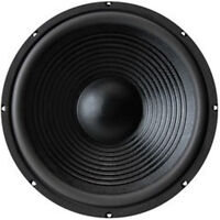 "NEW 15"" subwoofer Replacement Speaker.8 ohm Home Audio woofer.Bass Fifteen inch"
