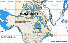 C-Map W72 NT MAX  M-NA-M021 WIDE AREA CHART CANADA NORTH & EAST C-CARD