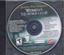 James Patterson - Women's Murder Club: Death in Scarlet (PC, 2008, Oberon Media)