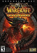 World of Warcraft: Cataclysm (Windows/Mac, 2010) Expansion Set Pack WOW in box