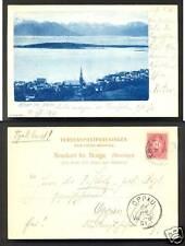 Molde Møre og Romsdal Norway stamp 1899