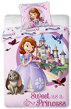 Bettwäsche-set Prinzessin, Arielle, Princess Sophia, Schlumpfine, Papa Schlumpf