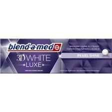 11,93EUR/100ml Blend-a-med 3D White Luxe Pearl Zahnpasta Zahncreme 75ml Tube