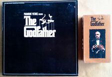 THE GODFATHER - PARAMOUNT - LP SOUNDTRACK + SEALED (2) VHS TAPE