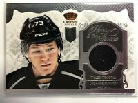 2013-14 Panini Crown Royale Heirs to the Throne Rookie Jersey Tyler Toffoli