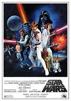 STAR WARS A New Hope 1977 Film A3 & A4 Poster Art Print 275gsm High Quality UK