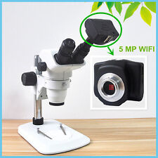 WIFI Digital Electronic Eyepiece 5MP CMOS Wireles Camera w/ Adapter USB2.0 HD