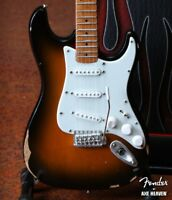 Axe Heaven Licensed Road-worn Fender Strat 1/4 scale miniature collectible