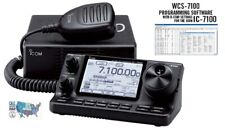 Icom IC-7100 HF/VHF/UHF Transceiver with RT Systems Programming Software Only