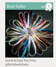 Quick & Easy Key Chain Fobs Pattern, gifts/wheelchairs/garage door opener