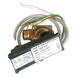 MUT DIFFERENTIAL PRESSURE SWITCH FLOW SIGNAL SBP M2S 3/4 1/2 7.008.00047