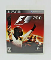 Sony PS3 PLAYSTATION - F1 2011 Formel 1 2011 Codemasters Japanese Version