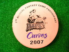 AHL Peoria Rivermen 07 Curves Fantasy Camp Pink Hockey Puck Check My Other Pucks