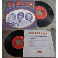 THE BEE GEES - Don't Forget To Remember Rare French PS 7' Psych Pop 69
