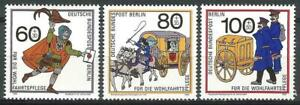 Germany Berlin 1989 MNH Postal Deliveries Messenger Brandenburg Mail Coach
