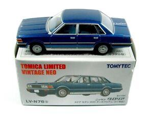 TOMICA / LV-N76B Nissan Gloria 4 Door Sedan (Metallic Blue) / LIMITED VINTAGE.