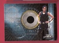 ANGELINA JOLIE LARA CROFT TOMB RAIDER WORN RELIC CARD PIECEWORKS PIECE CLOTHING