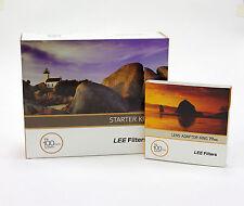 Lee Filters Starter Kit + Lee 77mm Standard ad anello adattatore. NUOVO di zecca