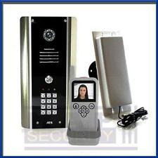 AES - 1 Way Wireless Video Door Entry Kit with Keypad handheld monitor 605-ABK