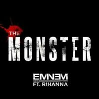 EMINEM FEAT. RIHANNA - THE MONSTER (2-TRACK)  CD SINGLE NEW+