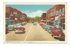 Essex County LEAMINGTON, ON Talbot Street with store fronts, autos