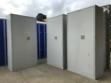 Retro Metal Roneo Vickers Cabinet Cupboard Locker Garage Storage Shelves cab 3
