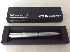 Wolverine USB DATA STORAGE PEN DRIVE (PC/MAC) 128MB, USB Flash Drive