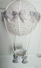 Hot air balloon light shade silver Dumbo , Peter rabbit looks stunning nursery