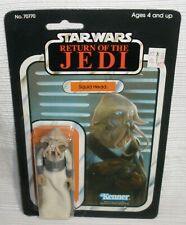 Star Wars ROTJ Squid Head action figure Carded