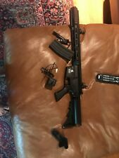 Tactical Lancer Airsoft Rifle And A Full Metal Pistol And Crossbow CO2 pistol