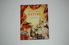 Ignacy Krasicki Satyry il Jan Marcin Szancer  1988 KiW Polish book for children