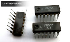 K1LB553 (SN7400N) Quadruple 2-Input Positive-NAND Gates 7400 IC (10 pieces)