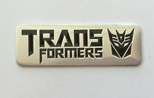 Transformers 3D Metal Auto Car Motor Logo Emblem Badge Sticker Decal  mm + 44