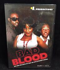 Nollywood OJ Productions: Bad Blood Part 1&2 DVD (Nigerian DVD, Franco Films)