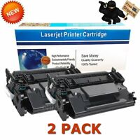 2PK For HP LaserJet Pro MFP M402n M426fdw Black Laser CF226X 26X Toner Cartridge