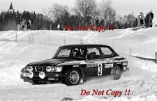 Stig Blomqvist & Bjorn Cederberg Saab 99 Turbo Swedish Rally 1979 Photograph 3