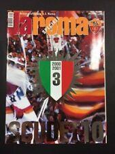 LA ROMA - RIVISTA UFFICIALE - NUMERO SPECIALE SCUDETTO 2000-2001