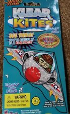 "FunTastic Klear Kites See Thru Pilot Kite - 42"" Wingspan/120' Twine - Free Ship!"