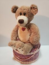"First & Main 23"" Brown Tender Teddy Bear Soft & Cuddly Plush MPN #1617"